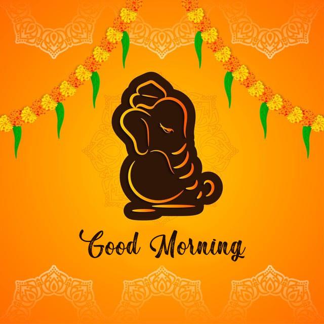 1080p New ganesha good morning images pic