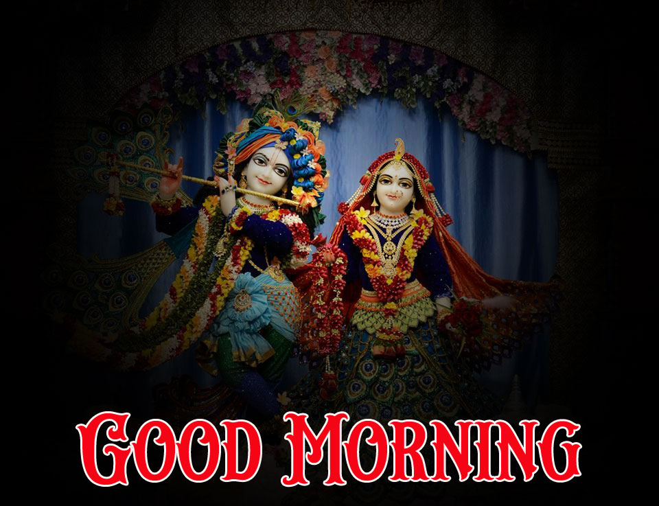 1080p Radha Krishna Good Morning Images