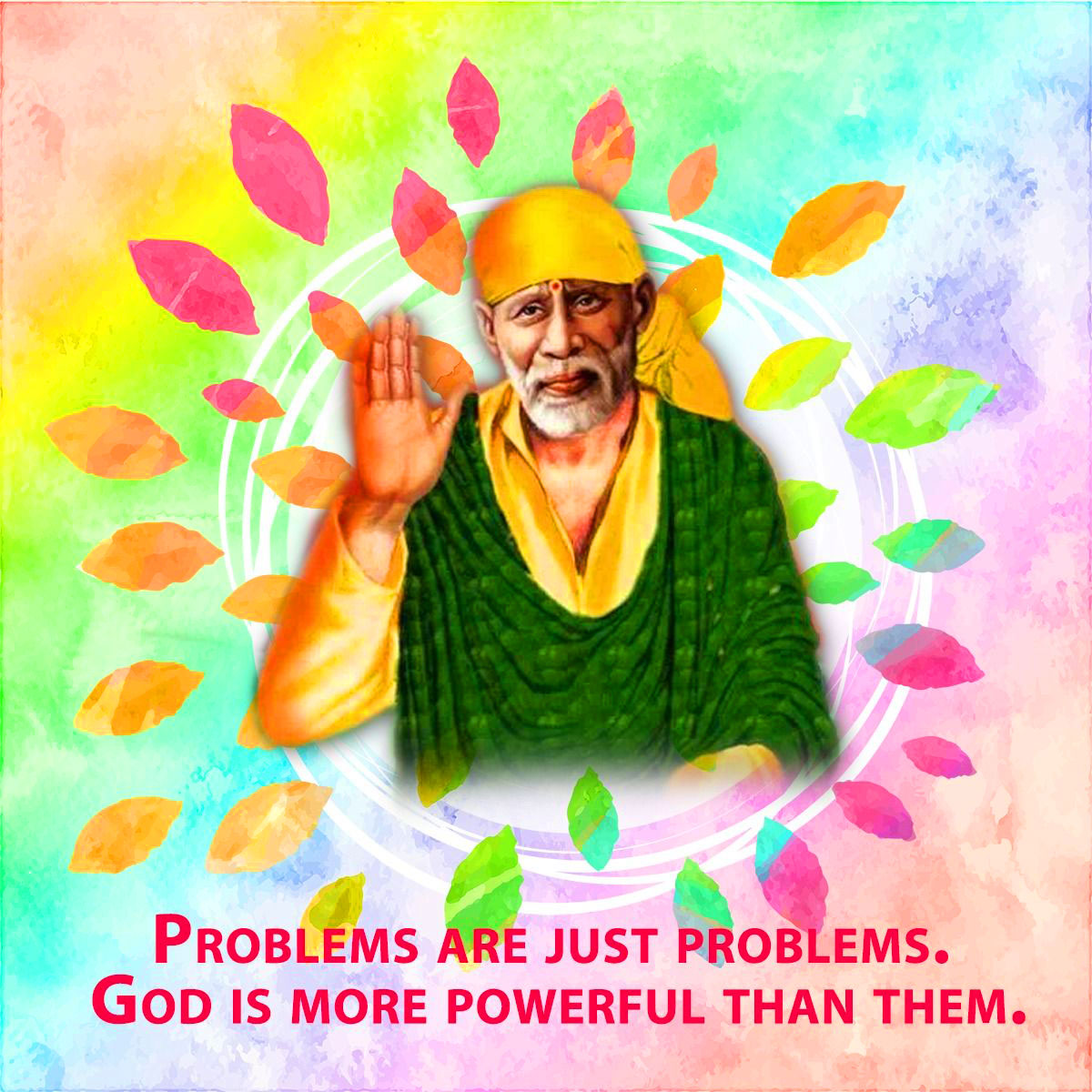 1080p Sai Baba Blessing Images