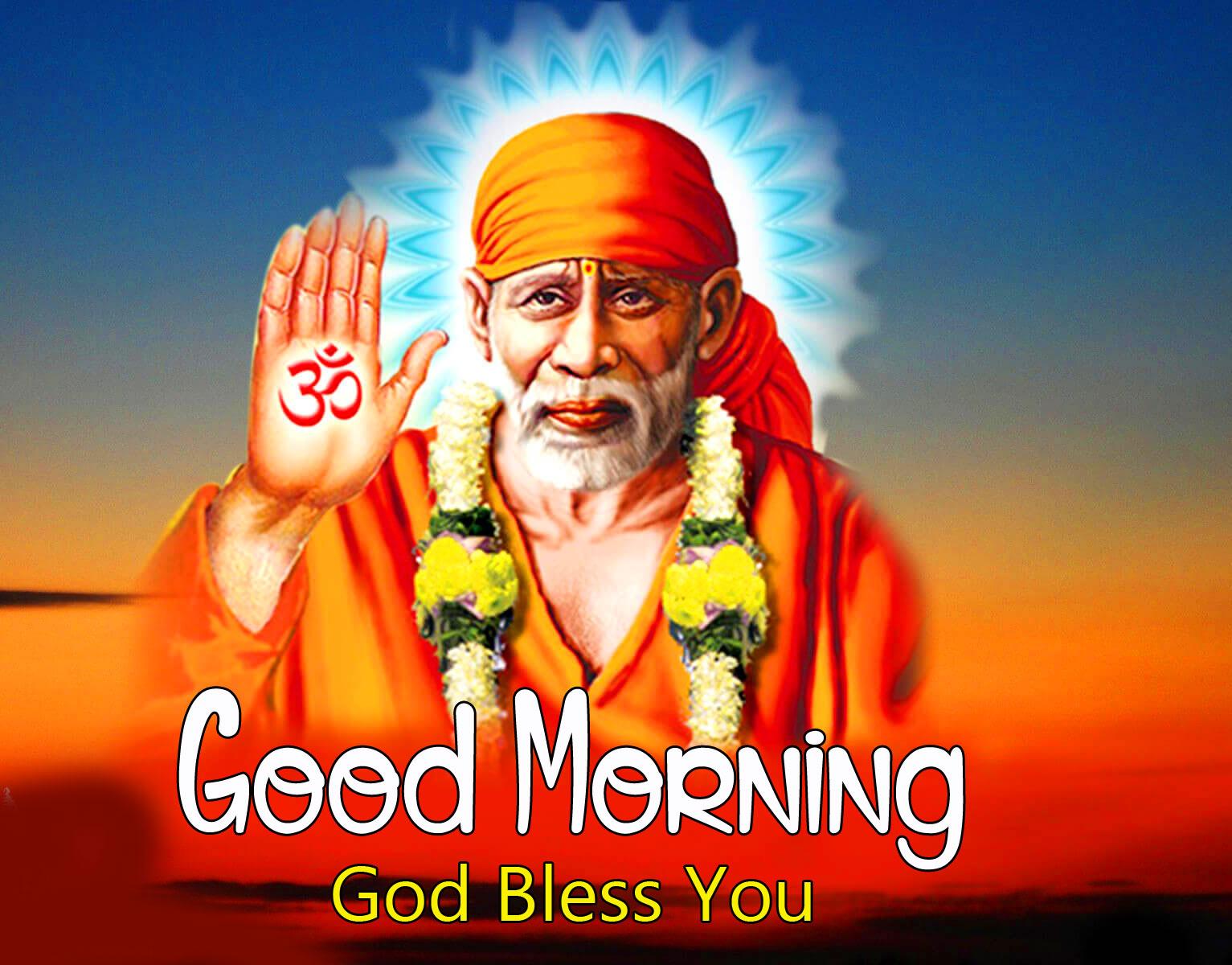 1080p Sai Baba Good Morning Images