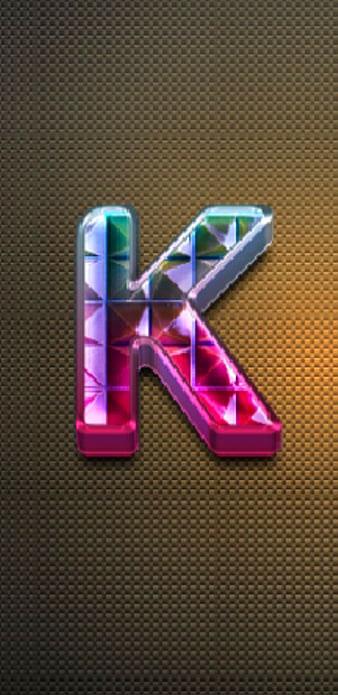 1080p Stylish K Name Dp Images photo pics download