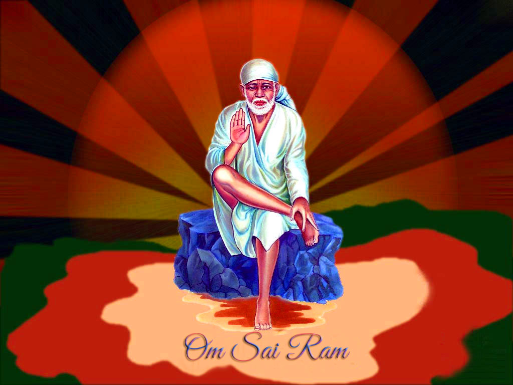 1080p hd Sai Baba Blessing Images