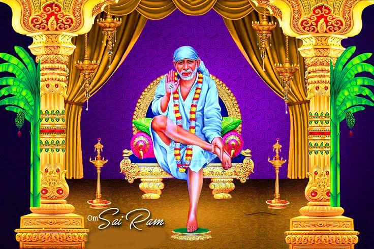 2021 Beautiful Sai Baba Blessing Images hd