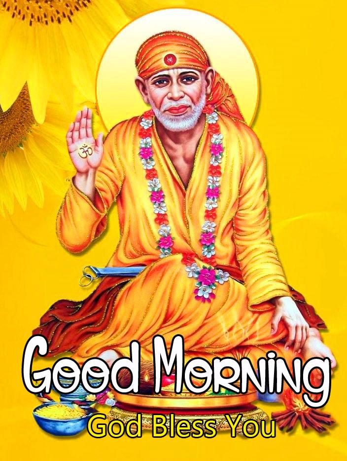 2021 Latest Sai Baba Good Morning Images