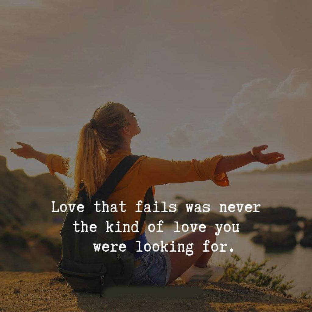 2021 Love Failure Quotes Images