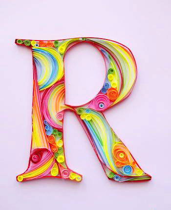2021 Lovely Stylish R Name Dp Images 1