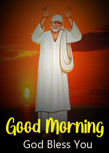 2021 Nice Sai Baba Good Morning Images pics download