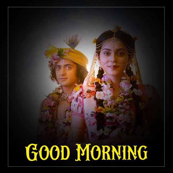 2021 Radha Krishna Good Morning Images hd