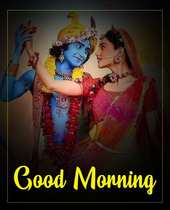 2021 Radha Krishna Good Morning Images pics