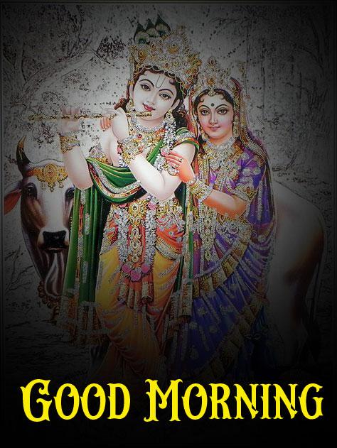2021 Radha Krishna Good Morning Images