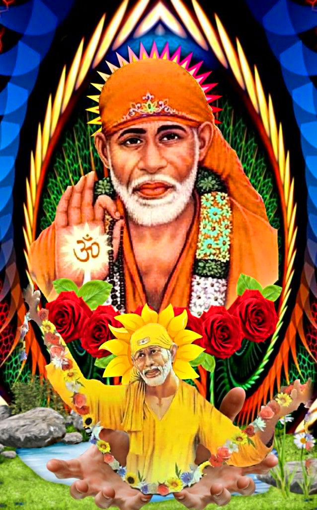 2021 Sai Baba Blessing Images