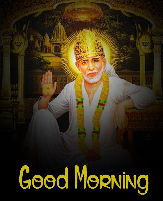 2021 Sai Baba Good Morning Images hd download