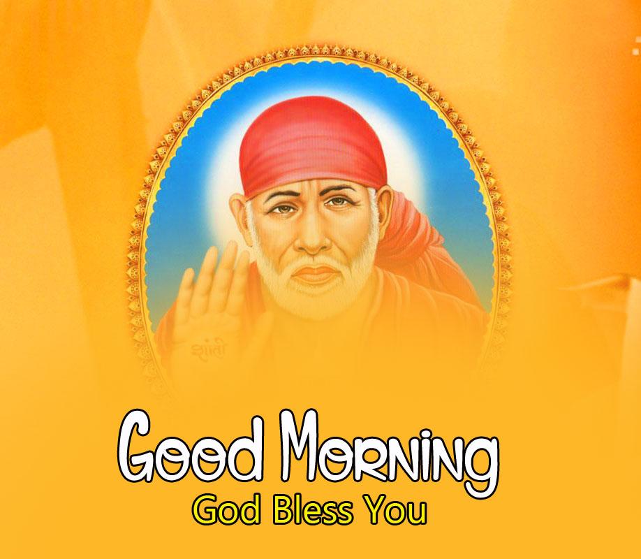 2021 Sai Baba Good Morning Images photo download