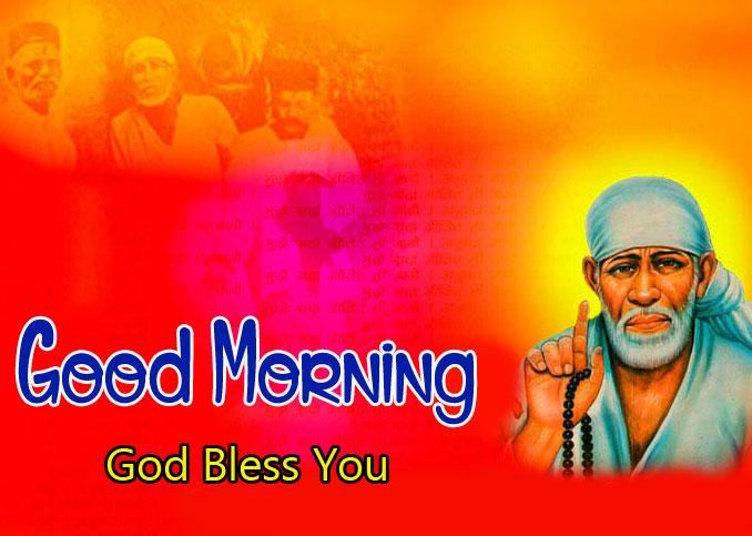 2021 Sai Baba Good Morning Images pics for hd