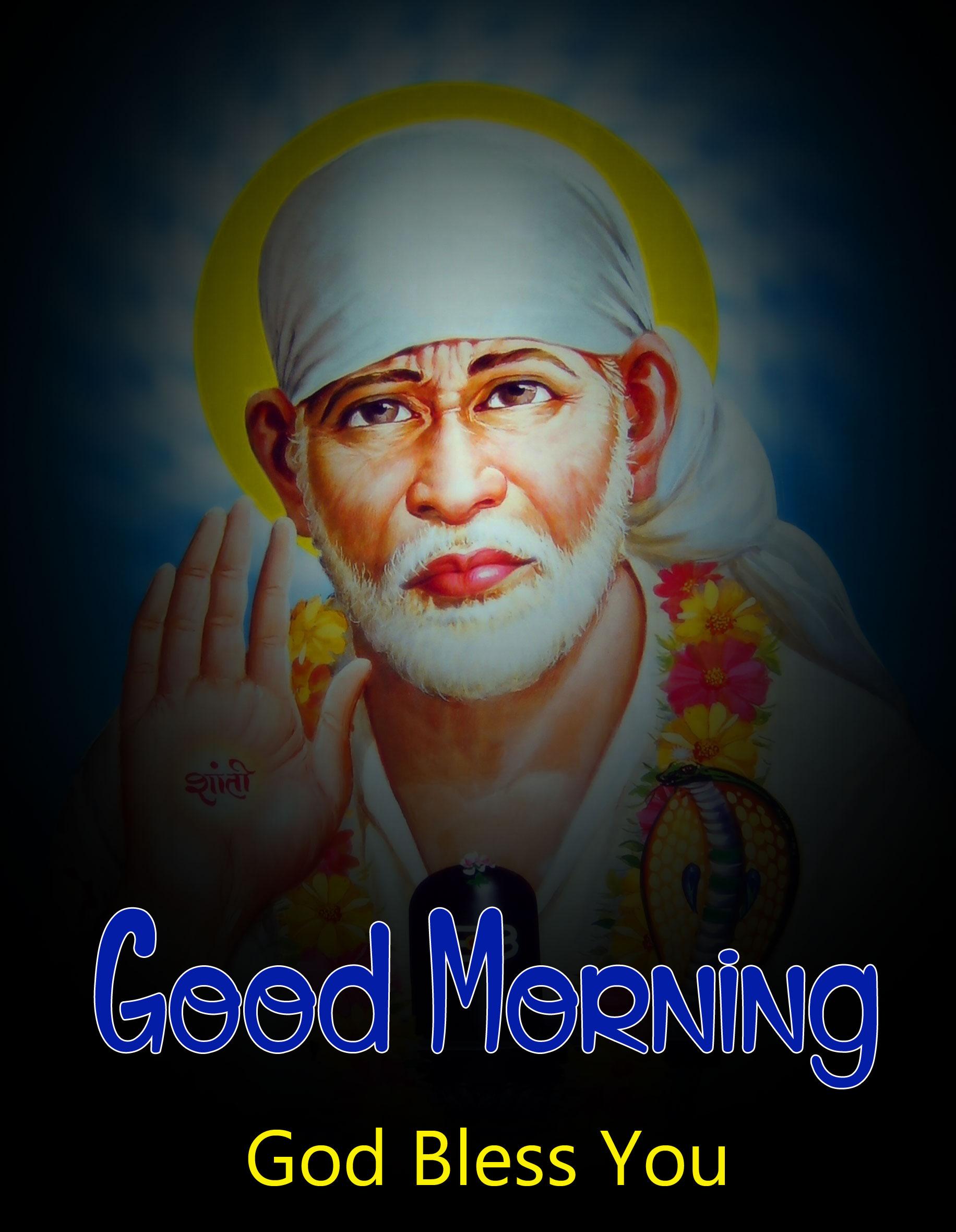 2021 Sai Baba Good Morning Images pics hd