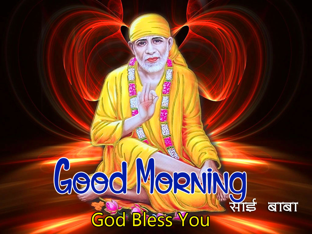 2021 Sai Baba Good Morning Images pictures hd