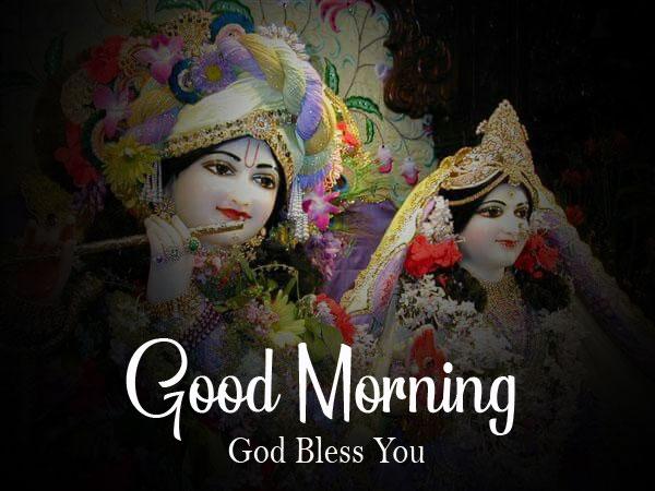2021 download Latest Radha Krishna Good Morning Images pics