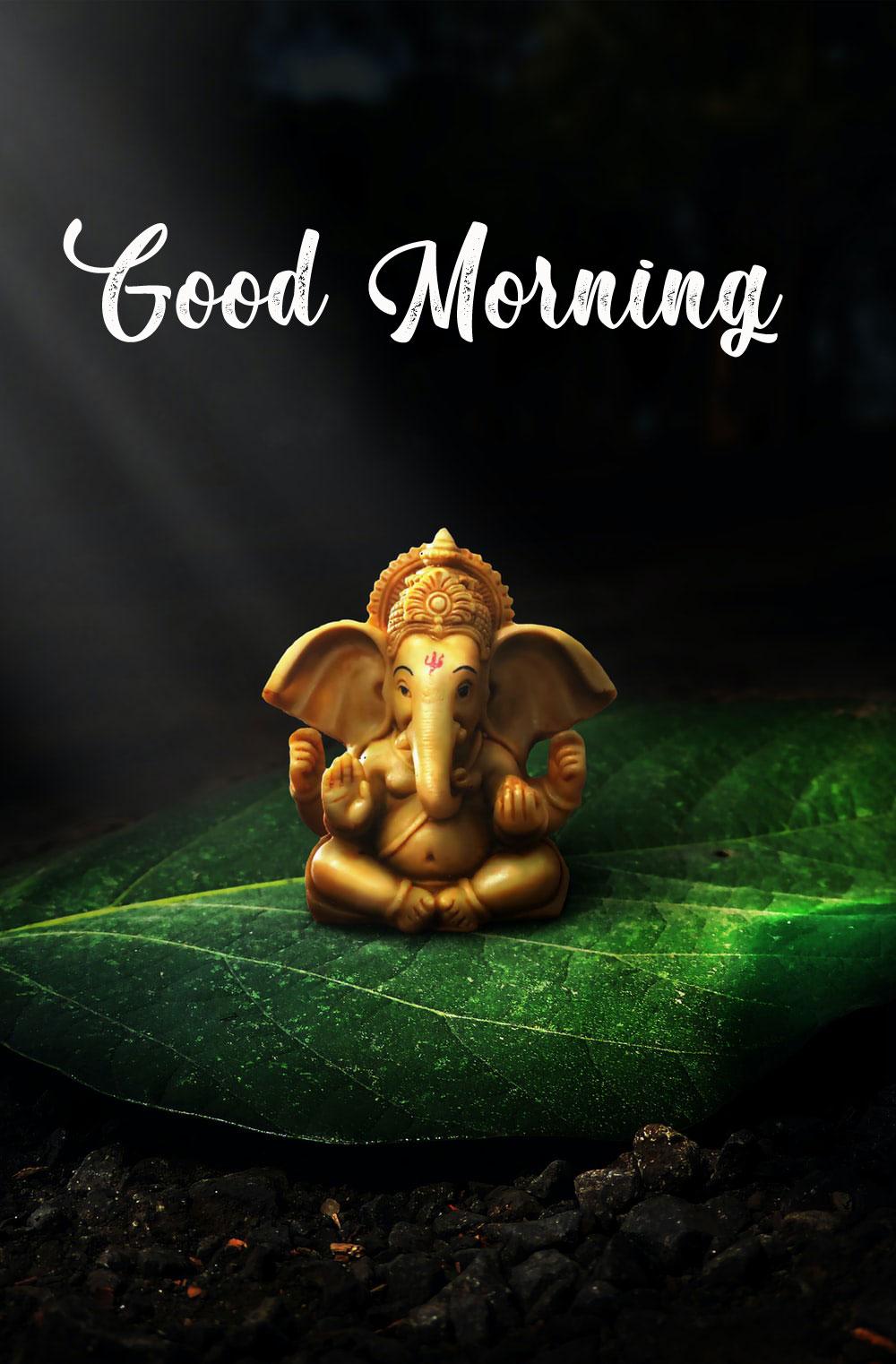 2021 download New ganesha good morning images