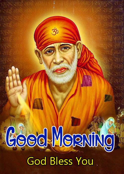 2021 download Sai Baba Good Morning Images