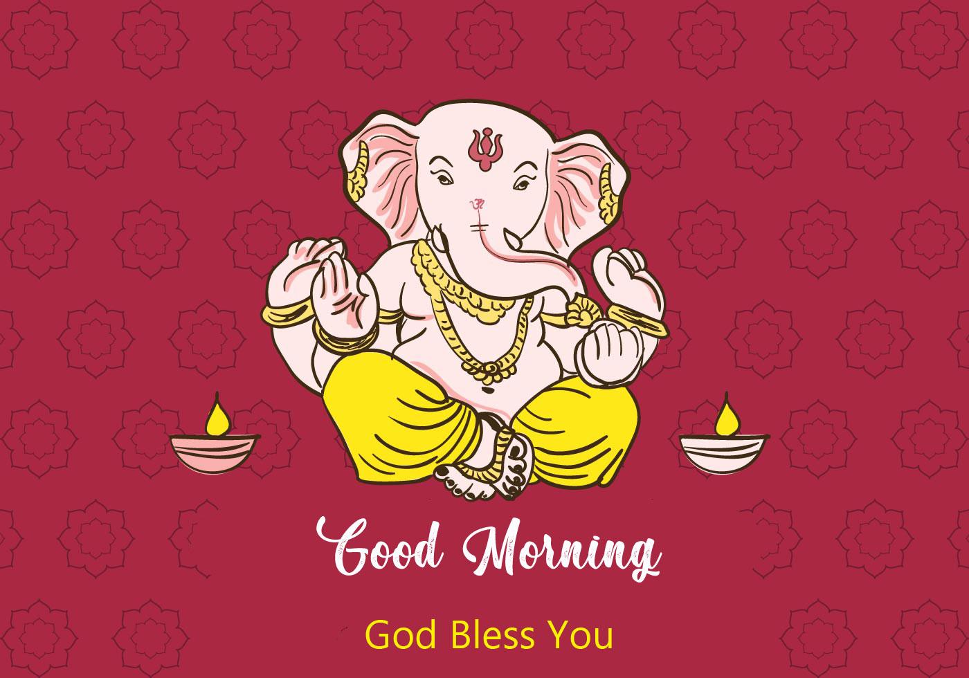 2021 download ganesha good morning images pics