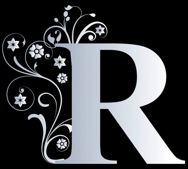2021 free Lovely Stylish R Name Dp Images 1