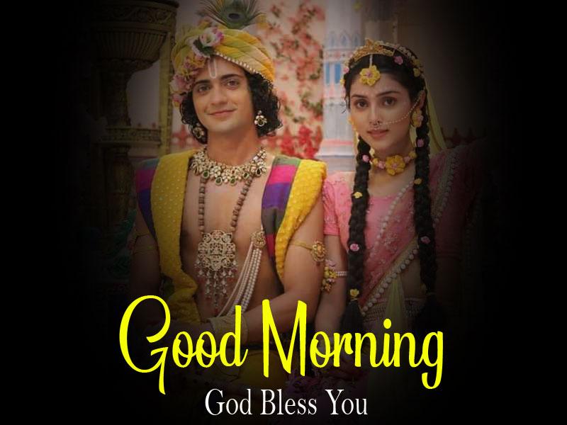 2021 free Radha Krishna Good Morning Images