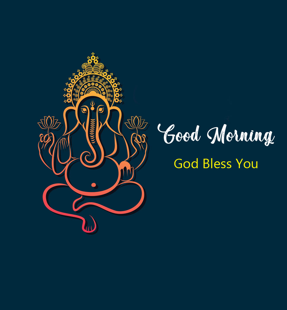 2021 ganesha good morning images photo download