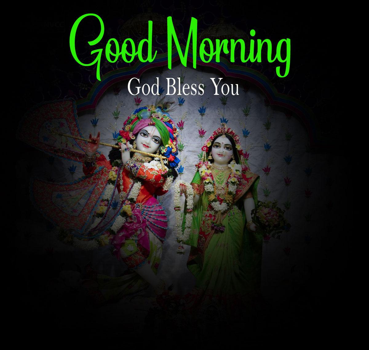2021 hd Latest Radha Krishna Good Morning Images photo