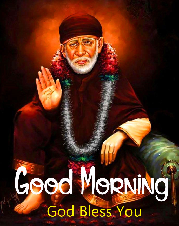 2021 hd Latest Sai Baba Good Morning Images pictures