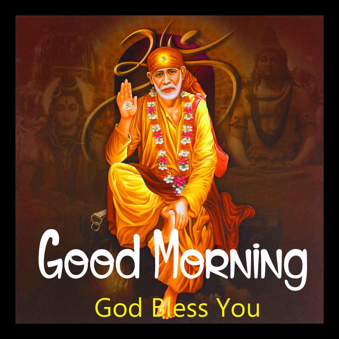 2021 hd Latest Sai Baba Good Morning Images