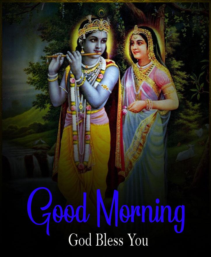 2021 hd Nice Radha Krishna Good Morning Images