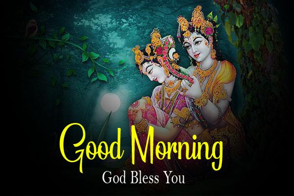 2021 hd Radha Krishna Good Morning Images photo