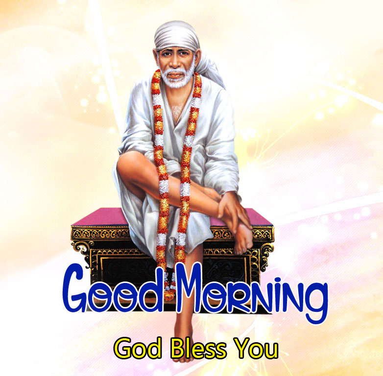2021 hd Sai Baba Good Morning Images pictures
