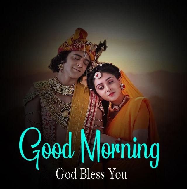 2021 pics hd Radha Krishna Good Morning Images