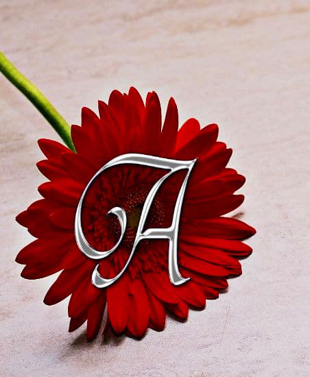 Awesome A Latter Dp Images photo download