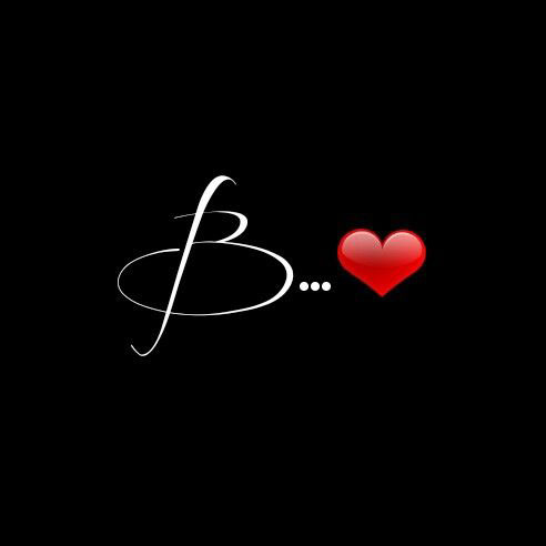 B Name Dp Images pictures for love