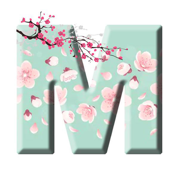Beautiful M Name Dp Images photo for download 1