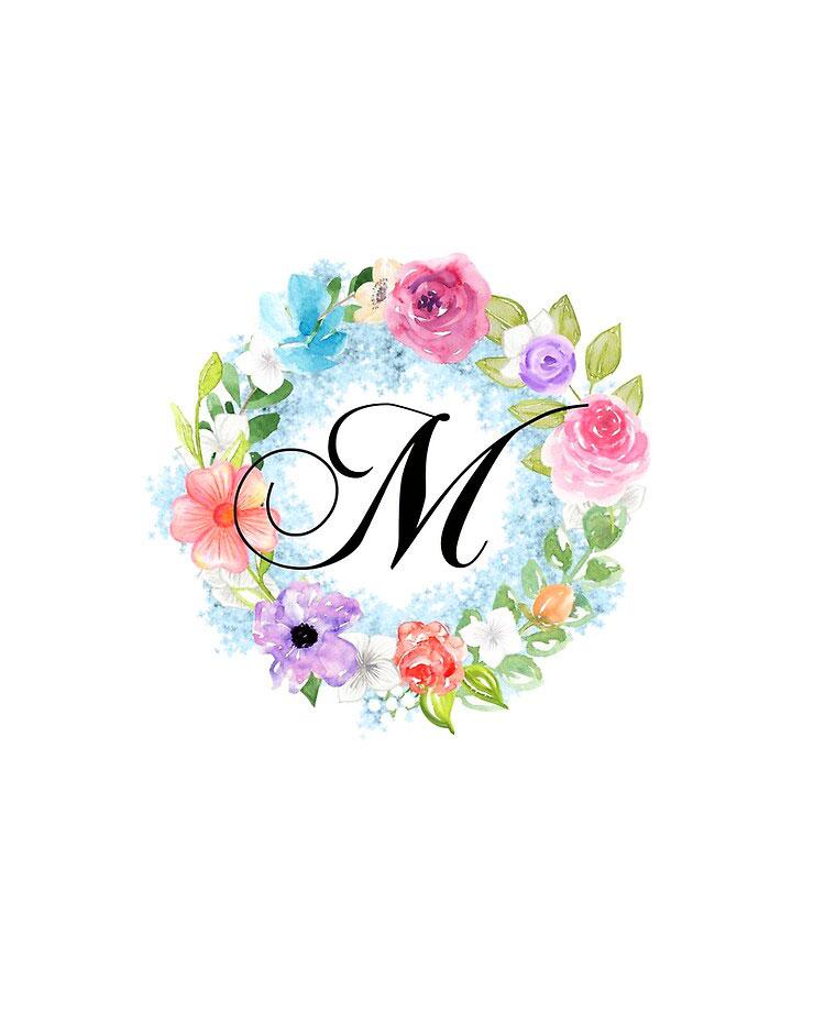 Beautiful M Name Dp Images photo hd 1080p 1