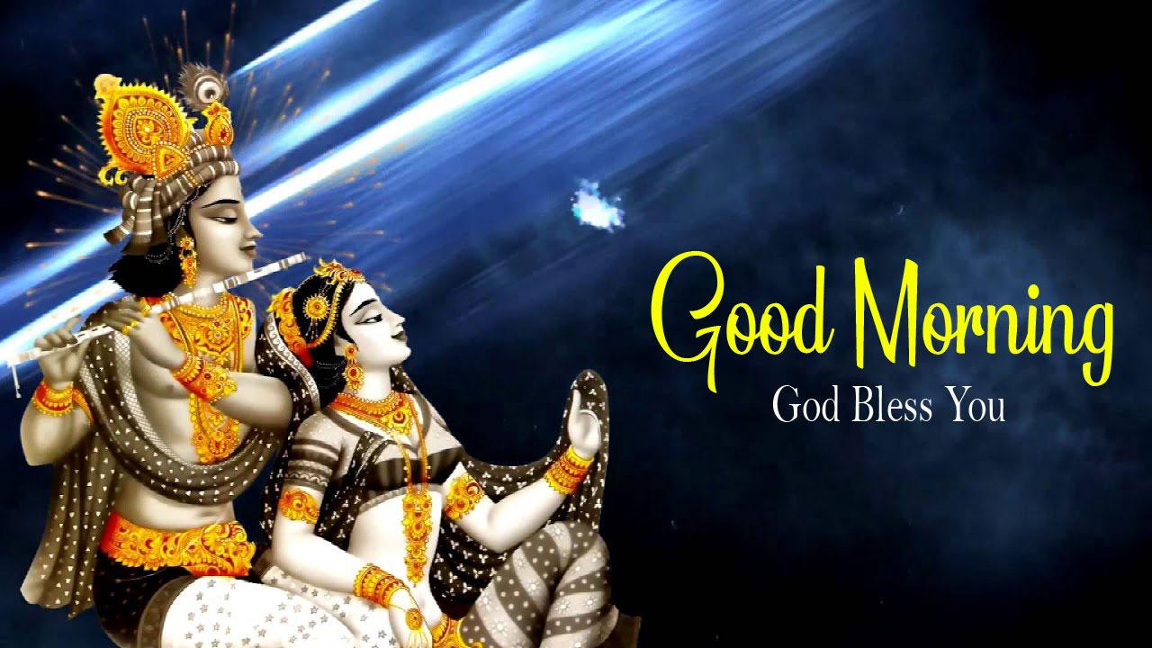 Beautiful Radha Krishna Good Morning Images pics download