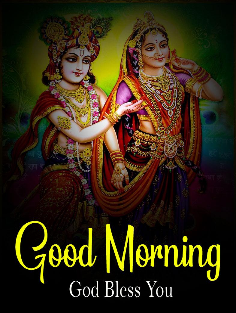 Beautiful Radha Krishna Good Morning Images pictures free hd 2021