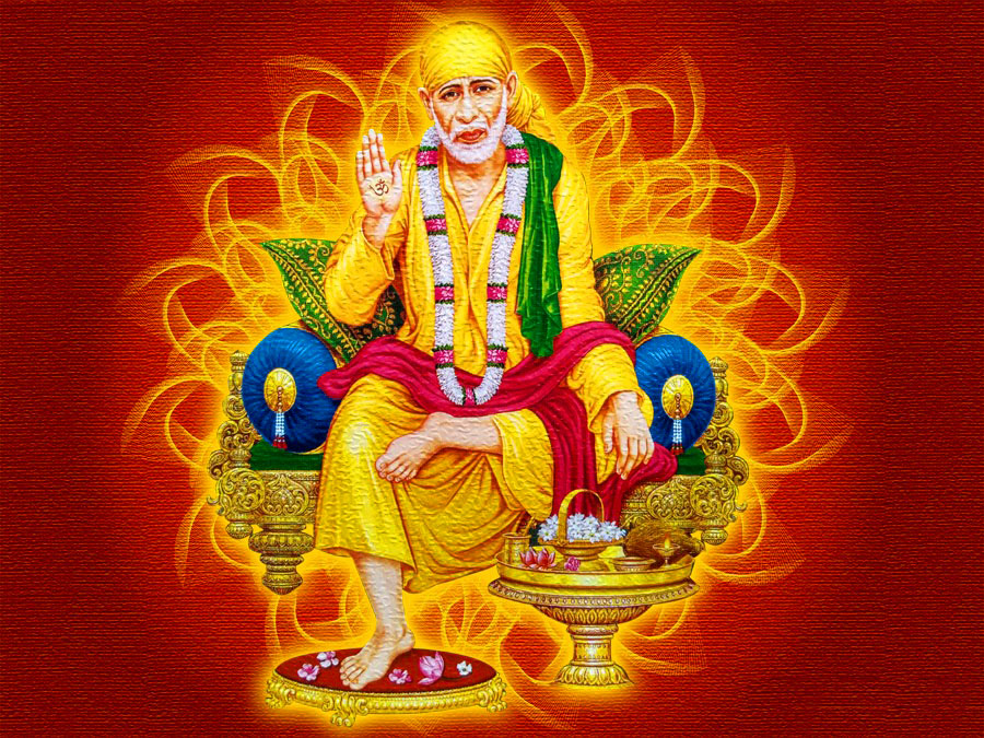 Beautiful Sai Baba Blessing Images for dp