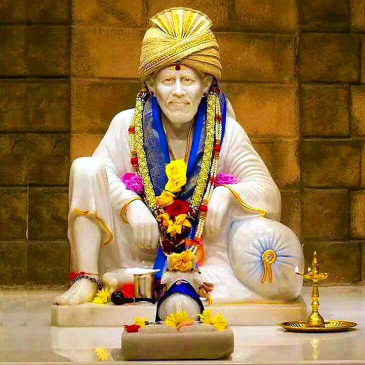 Beautiful Sai Baba Blessing Images for mobile download