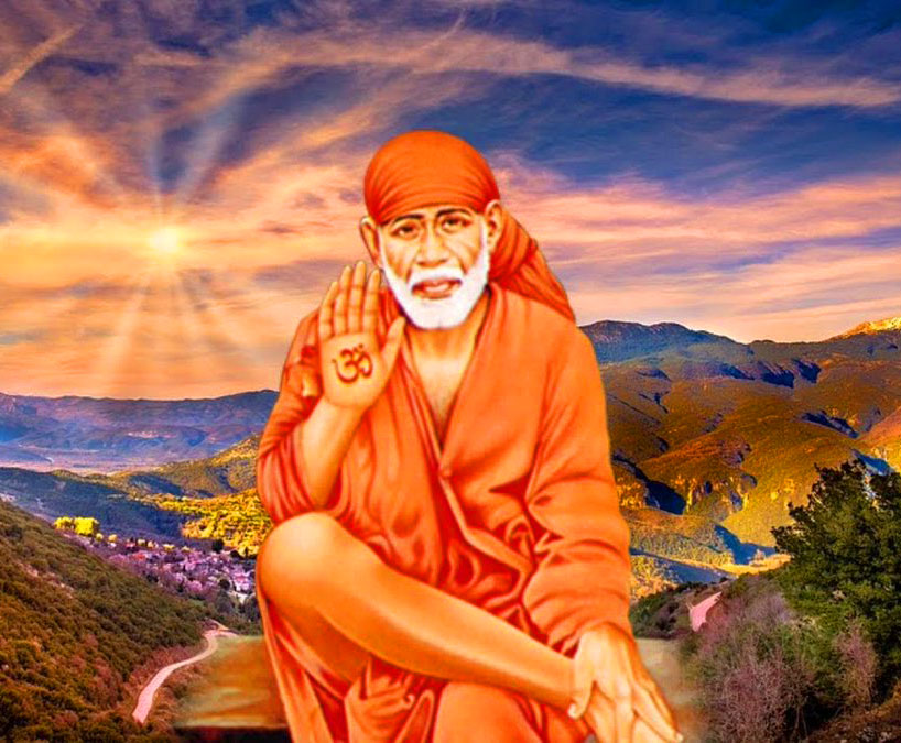Beautiful Sai Baba Blessing Images for whatsapp