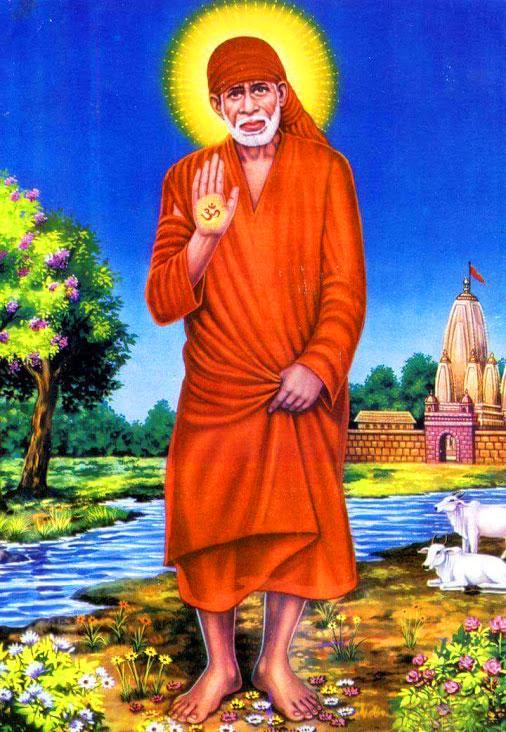 Beautiful Sai Baba Blessing Images photo free download