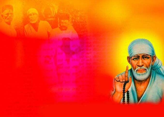 Beautiful Sai Baba Blessing Images photo wallpaper hd