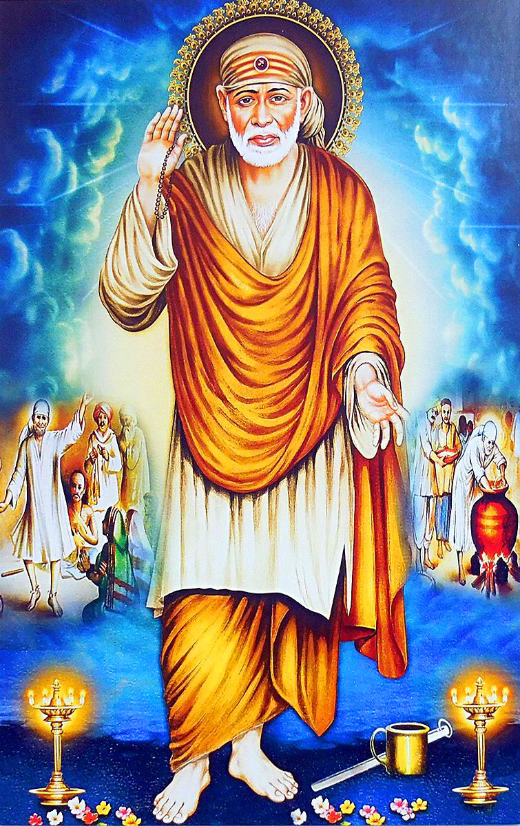 Beautiful Sai Baba Blessing Images pictures hd