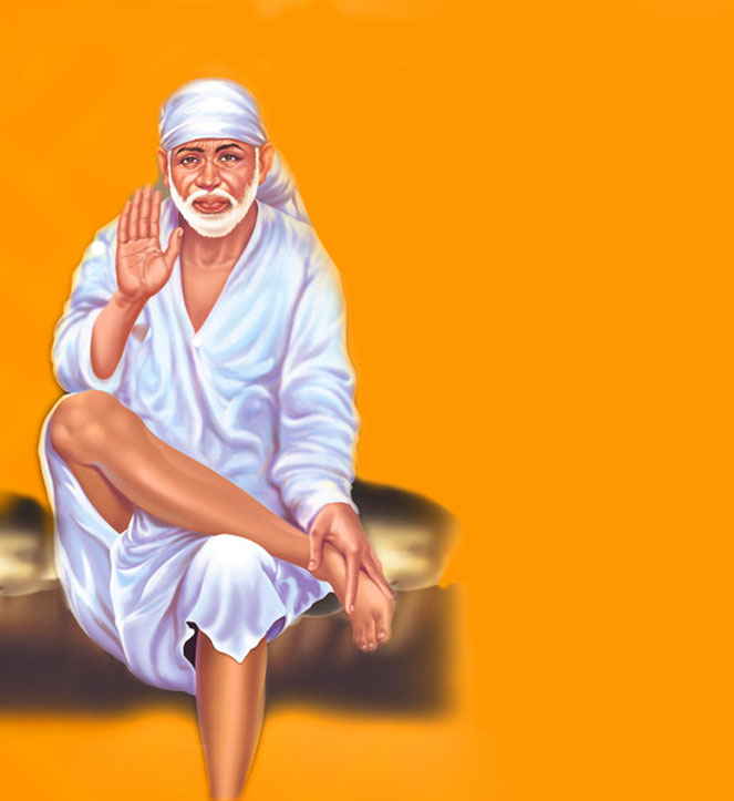 Beautiful Sai Baba Blessing Images pictures photo download