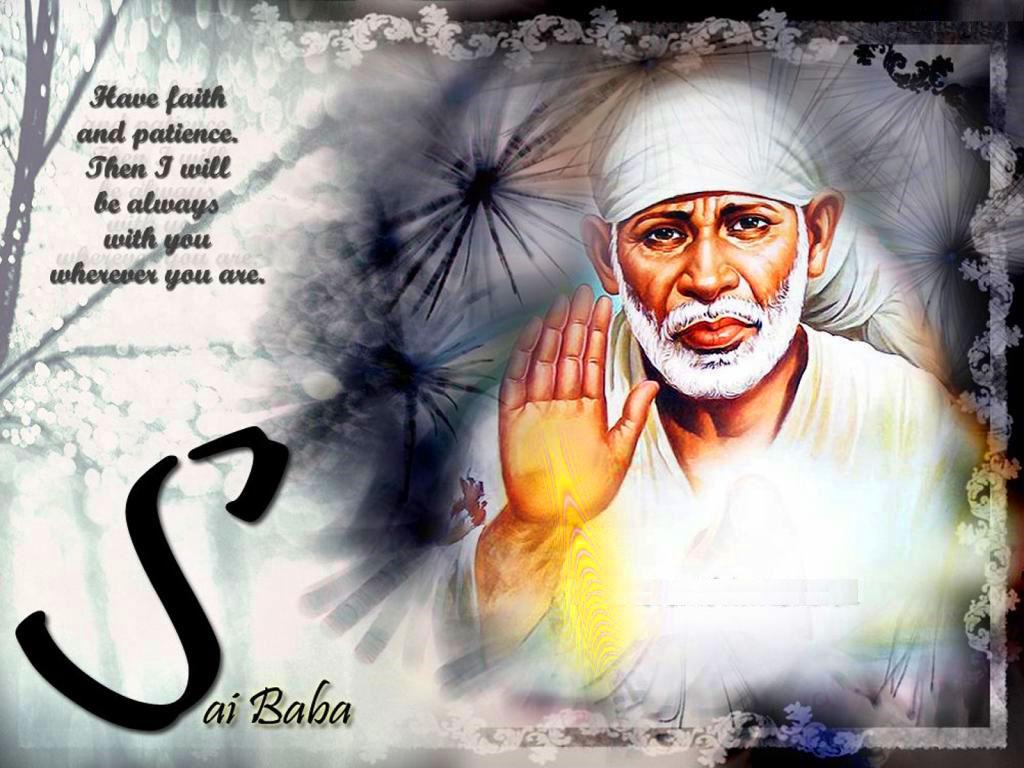 Beautiful Sai Baba Blessing Images wallpaper free hd