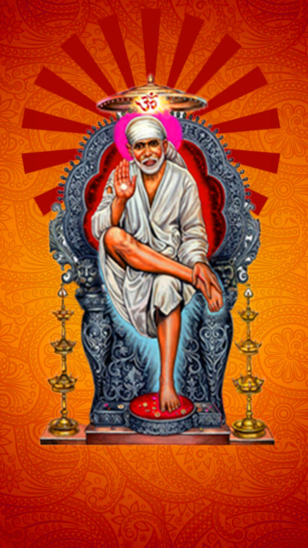 Beautiful Sai Baba Blessing Images wallpaper pictures hd download