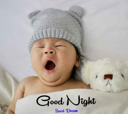 Best HD good night cute baby Images